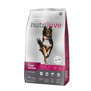 Nutrilove pes granule ADULT M fresh kuřecí 1,6kg