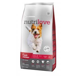 Nutrilove pes granule ADULT S fresh kuřecí 8kg