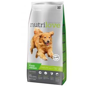 Nutrilove pes granule MATURE fresh kuřecí 3kg