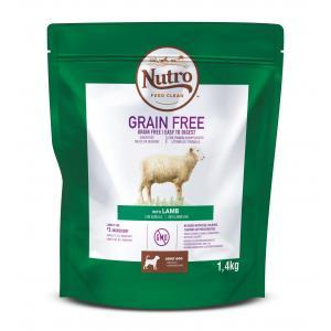 NUTRO™ GRAIN FREE™ granule s jehněčím pro dospělé psy 1,4 kg