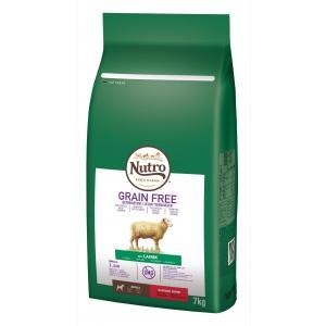 NUTRO™ GRAIN FREE™ granule s jehněčím pro dospělé psy malých plemen 7 kg