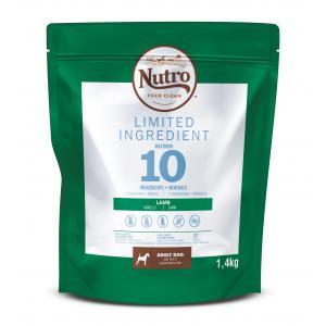 NUTRO™ LIMITED INGREDIENT granule s jehněčím pro dospělé psy 1,4 kg
