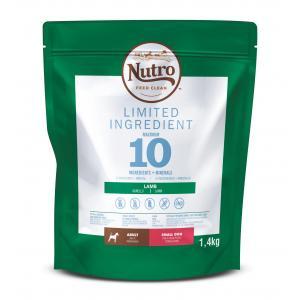 NUTRO™ LIMITED INGREDIENT granule s jehněčím pro dospělé psy malých plemen 1,4 kg