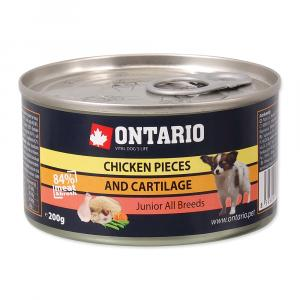 ONTARIO Junior Chicken Pieces + Cartilage 200g