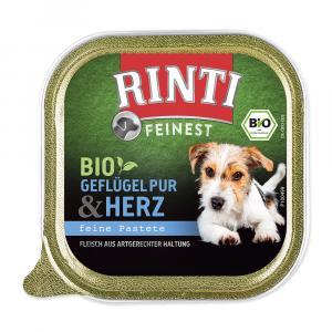 Paštika RintiBio drůbeží srdíčka 150g
