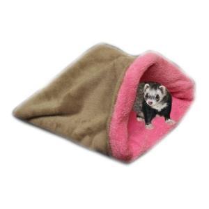 Pelíšek pro fretky - béžová/světle růžová