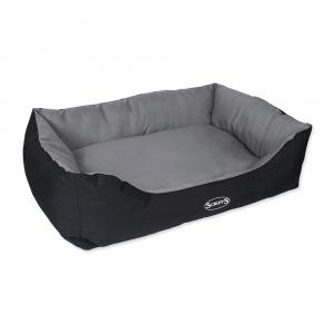 Pelíšek SCRUFFS Expedition Box Bed XL šedivý