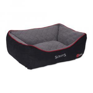Pelíšek SCRUFFS Thermal Box Bed černý M