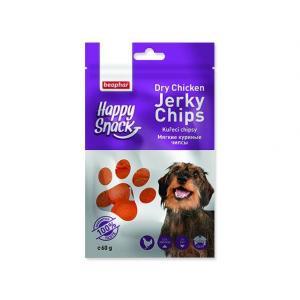 Pochoutka BEAPHAR Happy Snack Dog kuřecí chipsy 60g