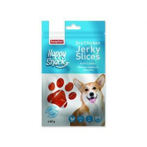 Pochoutka BEAPHAR Happy Snack Dog kuřecí plátky 60g