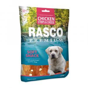 Pochoutka RASCO Premium proužky kuřecí se sýrem 230g