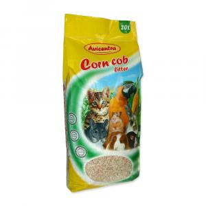 Avicentra Podestýlka kukuřičná jemná 6kg