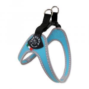 Postroj TRE PONTI reflexní do 6 kg sv. modrý