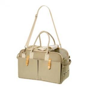 Přenosná taška béžová 37x15x27cm