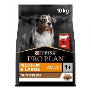 Pro Plan Dog Adult Duo Délice Medium & Large Adult hovězí 10 kg