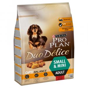 Pro Plan Dog Adult Duo Délice Small & Mini hovězí 2,5 kg