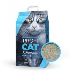 "PROFICAT Bentonit blue-grey 10 kg NEW + ""Proficat Ryba 12x100g"""
