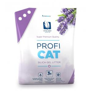 """PROFICAT kočkolit Lavender by Nature Extra Fine 8 l + """"PROFICAT 12x85g"""""""