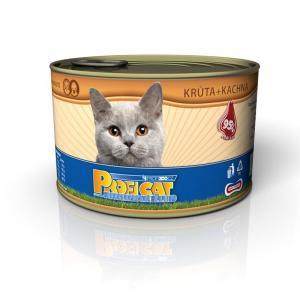 PROFICAT konzerva krůta + kachna 405g