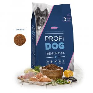"""PROFIDOG Premium Plus All Breeds Puppy 12 kg + """"Multipack Snack"""""""