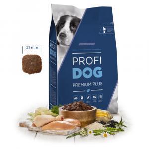 """PROFIDOG Premium Plus Extra Large Adult 12 kg + """"Multipack Snack"""""""