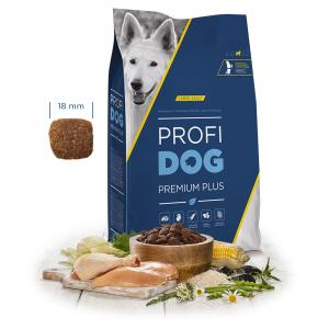 "PROFIDOG Premium Plus Large Adult 12 kg + ""Multipack Snack"""