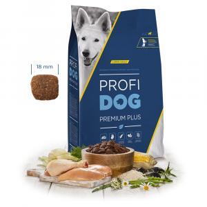 "PROFIDOG Premium Plus Large Adult 12 kg + ""Profidog 24x85g"""