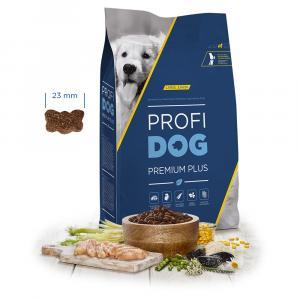 """PROFIDOG Premium Plus Large Junior 12 kg + """"Multipack Snack"""""""