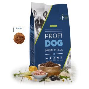 """PROFIDOG Premium Plus Mini Puppy 12 kg + """"Multipack Snack"""""""