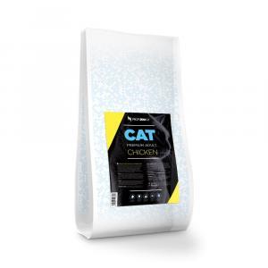 """PROFIZOO Cat Premium Adult Chicken 10kg + """"Proficat Mix 24x100g"""""""