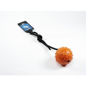 PROFIZOO Gumový míček, šňůrka MIX barev