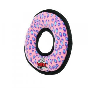 PROFIZOO Hračka Odolná Ultimate Přetahovadlo Kruh Leopard růžové 27cm