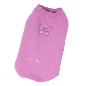 PROFIZOO Mikina bavlněná motýli fialová - M