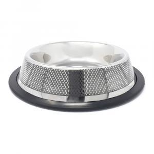 PROFIZOO Miska nerezová protiskluzová 930 ml (diamantové gravírování)