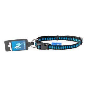 PROFIZOO Obojek Žebřík (15mm x 30-50cm) modrá