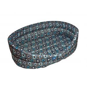 PROFIZOO Odolný Pelech Standard 65 vzor modrá srdíčka (Spylon)