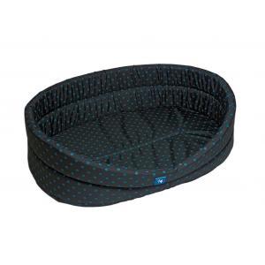 PROFIZOO Odolný Pelech Standard 80 černá/tyrkysová (Spylon)