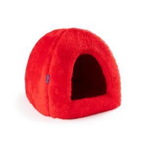 PROFIZOO Pelech Domeček Iglú 45 červená (Plys)