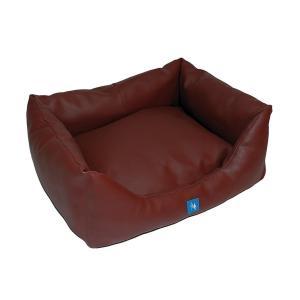 PROFIZOO Pelech Sofa Skai 120 bright brown (skai) (Poškozený)