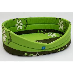 PROFIZOO Pelech standard 100 zelená kytka (bav)