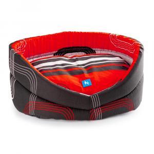 PROFIZOO Pelech Wasty 55 červeno-černá (bav)