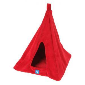 PROFIZOO Pelech Závěsné iglú 40x40cm červená