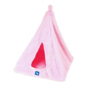 PROFIZOO Pelech Závěsné iglú 40x40cm růžová