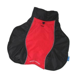 PROFIZOO Pláštenka Doggy Comfort BIG červená - 80 (XXL)