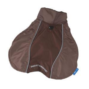 PROFIZOO Pláštenka Doggy Comfort BIG hnedá - 75 (XL1)
