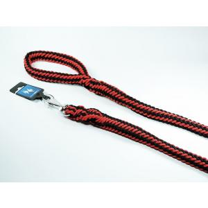 PROFIZOO Vodítko HUGO (20mm x 150cm) černo-červená