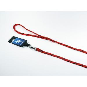 PROFIZOO Vodítko NYLON (10mm x 130cm) červeno-černá