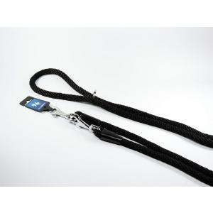 PROFIZOO Vodítko přepínací lano SPIRÁLA (14mm x 300cm) černá