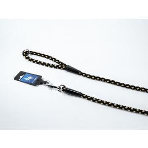 PROFIZOO Vodítko - syntetické lano (10mm x 150cm) černo-béžová