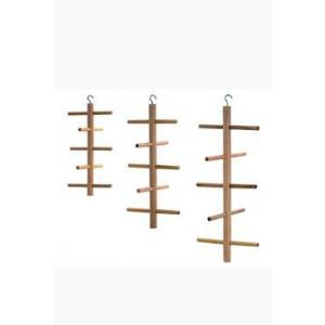 Prolézačka dřevěná závěsná-ptáci, m.hlod. 25cm KAR 1ks